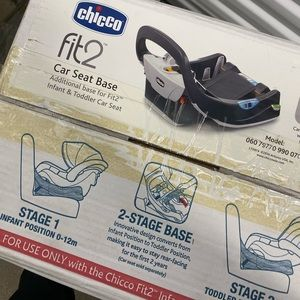 Chicco Car Seat Base Fit 2 NEW in Box!!!
